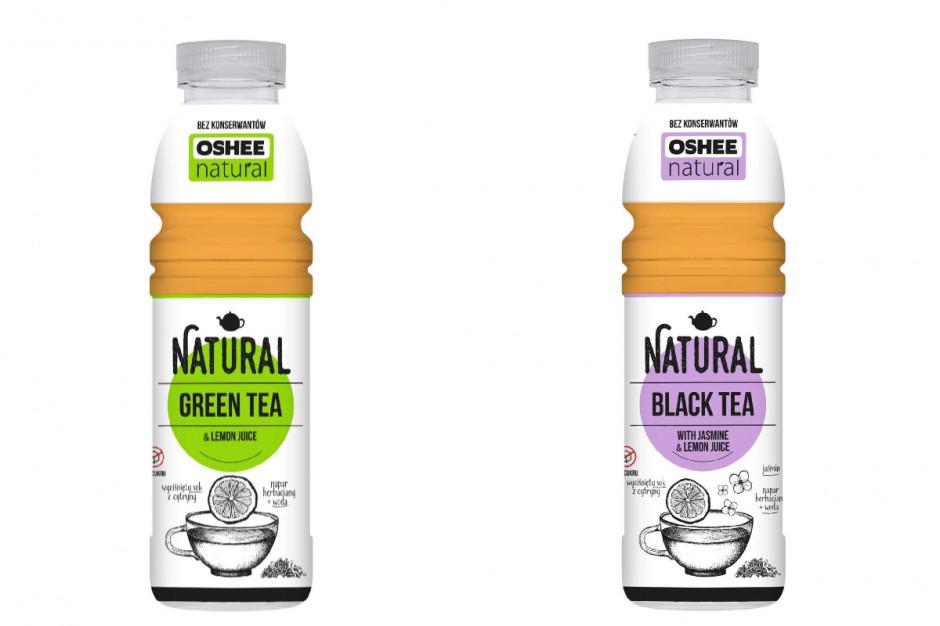 Oshee z nową linią napojów Natural Tea