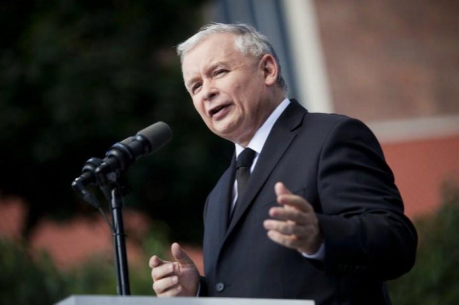 Kaczyński: Przyjmiemy euro, gdy będziemy na poziomie Niemiec