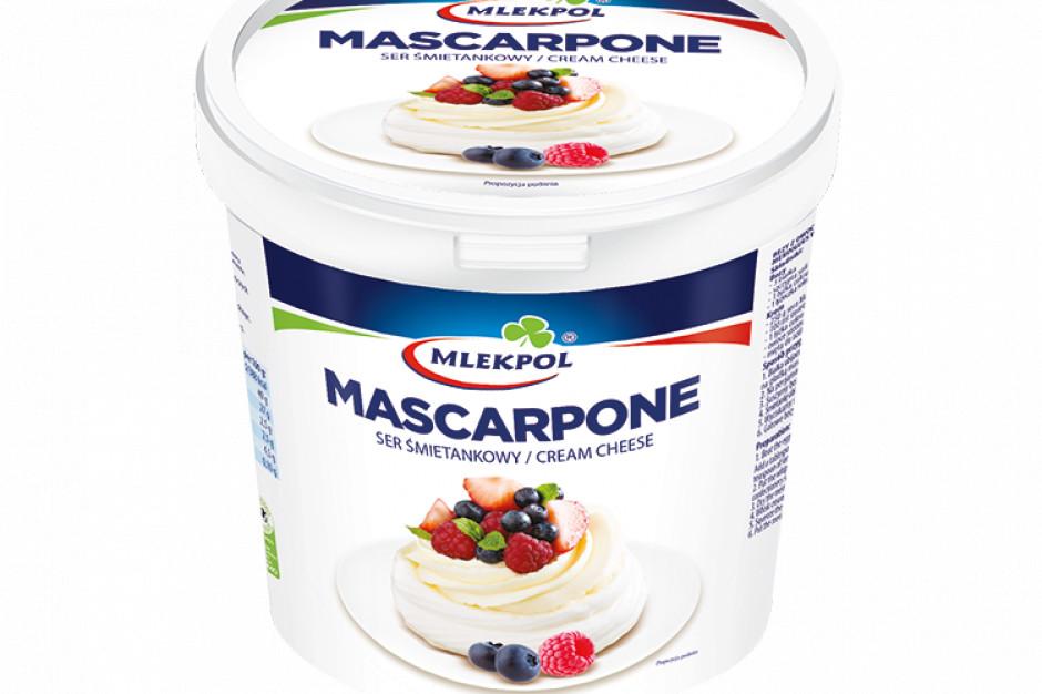 Mlekpol rozszerza swoją ofertę produktową o ser Mascarpone