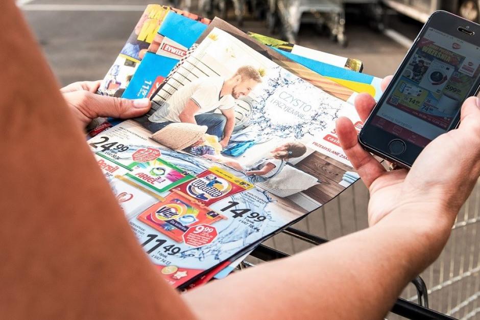 Gazetki online zyskują na zakazie handlu w niedziele. Eksperci: Ich siła jeszcze wzrośnie