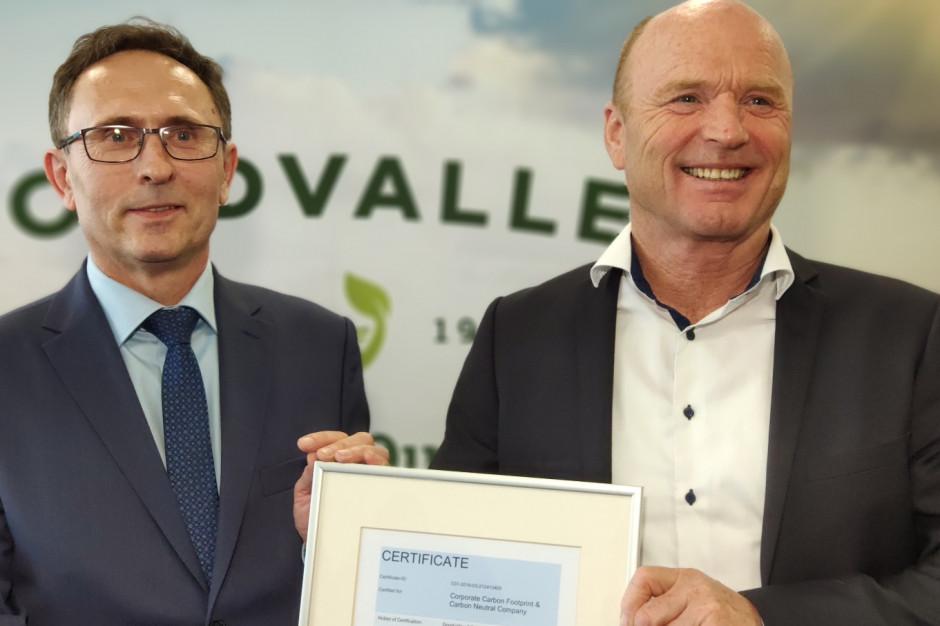 Goodvalley z certyfikatem TÜV dla zerowego śladu węglowego (zdjęcia)