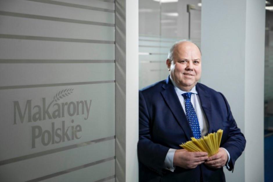 Prezes Makaronów Polskich: Chcemy budować nowe marki