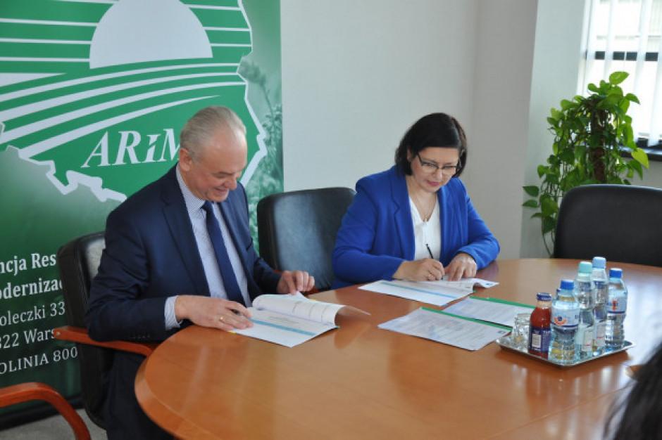 PIORiN i ARiMR podpisali porozumienie ws. przekazywania danych i informacji