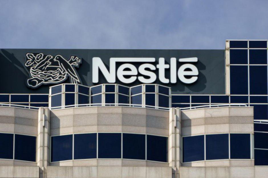 Nestle przebija oczekiwania wzrostu sprzedaży