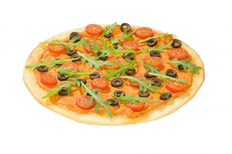 Telepizza wprowadza pizzę wegańską z hummusem