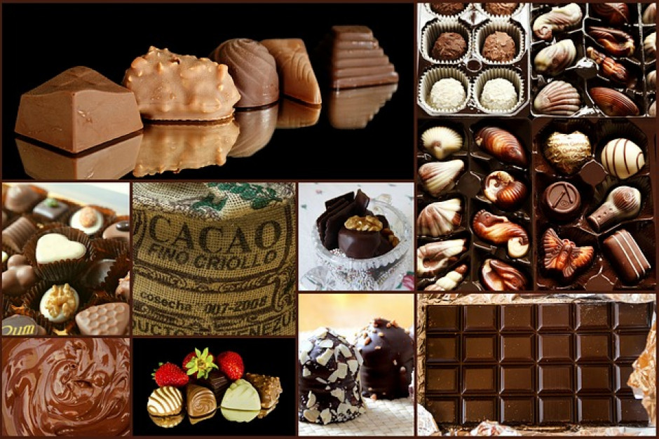 Produkcja czekolady i wyrobów wzrosła w marcu 2019 roku