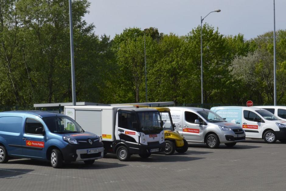 Poczta Polska pozyska elektryczne samochody