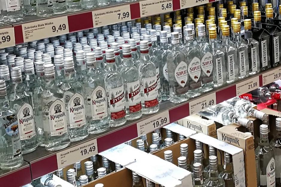 Sieci promują mniej mocnych alkoholi. Spada wódka i whisky
