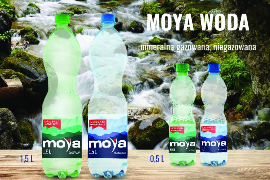 Sieć stacji paliw Moya ma swoją wodę mineralną