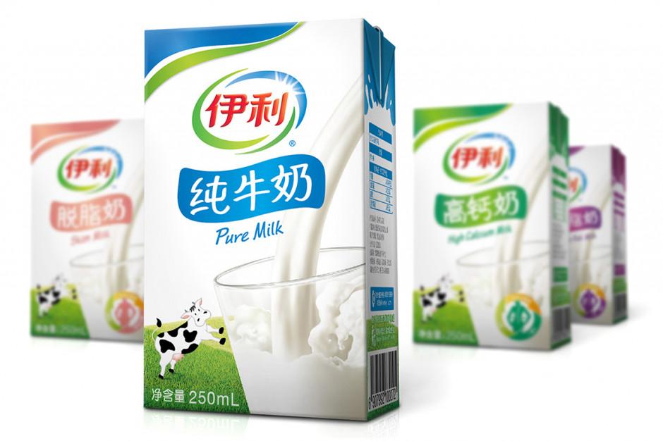 Chiński mleczny potentat stawia na opakowania PET