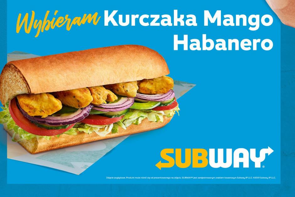 Chleb chili i Kurczak Mango Habanero wśród nowości Subway