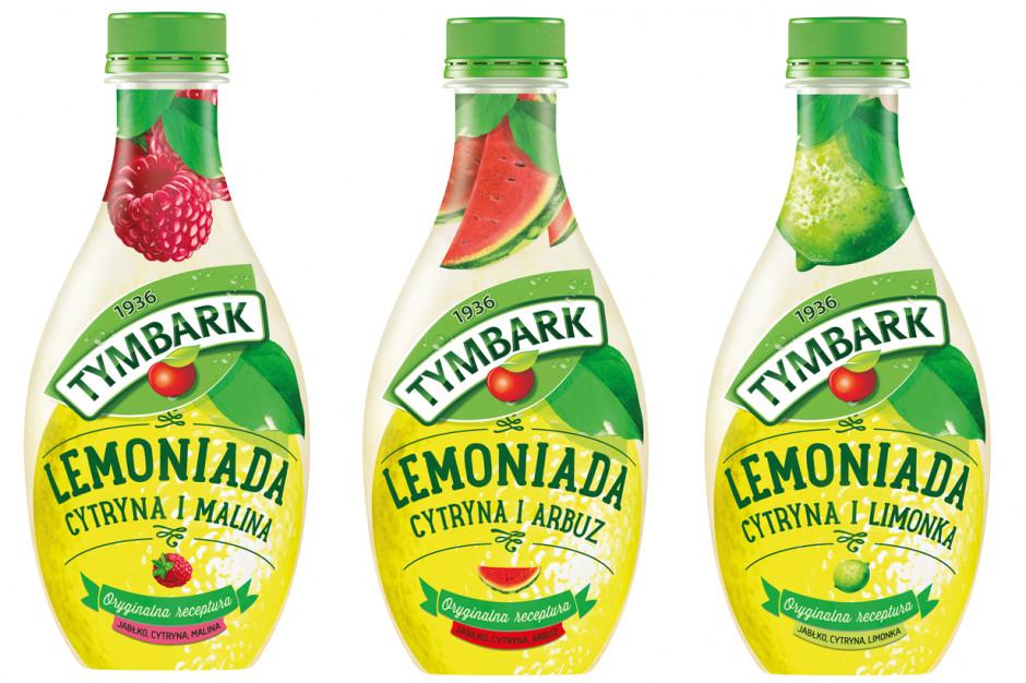 Lemoniada Tymbark z nowym, arbuzowym smakiem