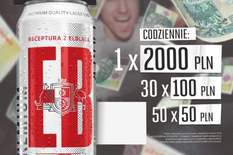 Marka EB zmienia recepturę piwa, startuje z nową loterią