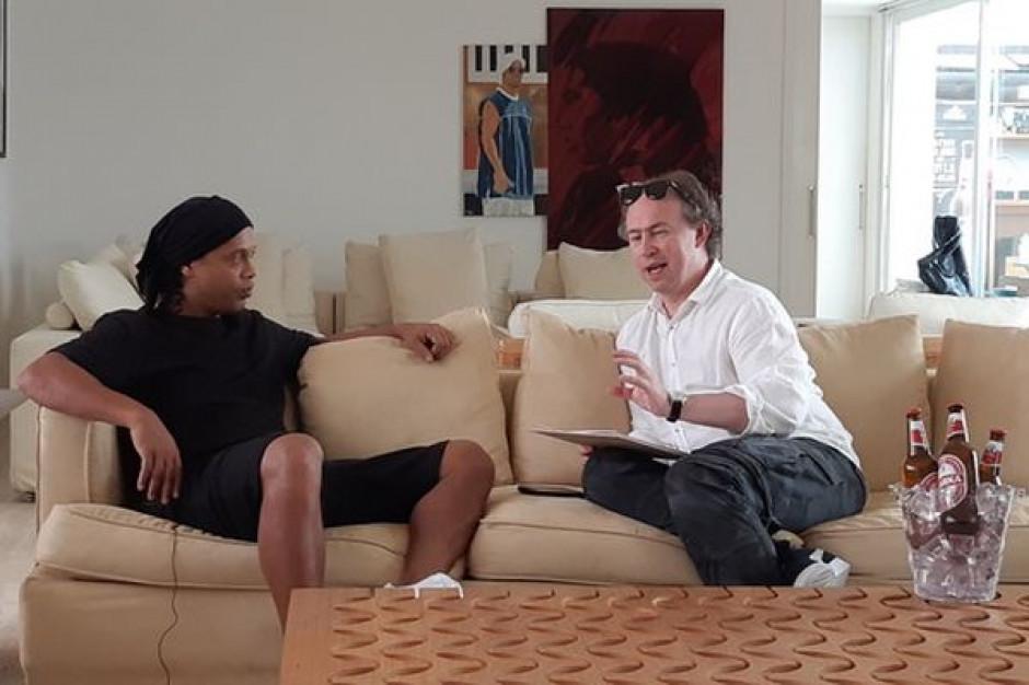 Reklama marki Warka z legendą piłki nożnej Ronaldinho wkrótce w polskiej TV