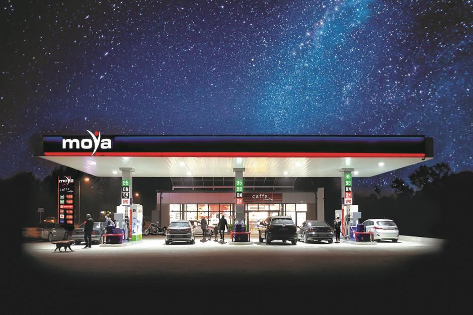 Moya celuje w 350 stacji paliw do 2023 roku