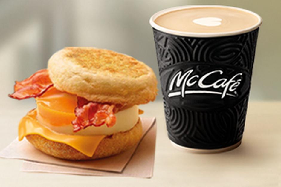 Darmowy McMuffin Jajko i Bekon do każdej kawy w McDonald's