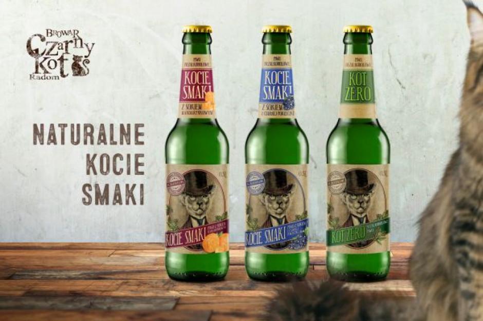 Browar Czarny Kot wprowadza do sklepów nową linię piw bezalkoholowych