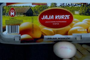 GIS wydał ostrzeżenie na temat salmonelli na skorupkach jaj
