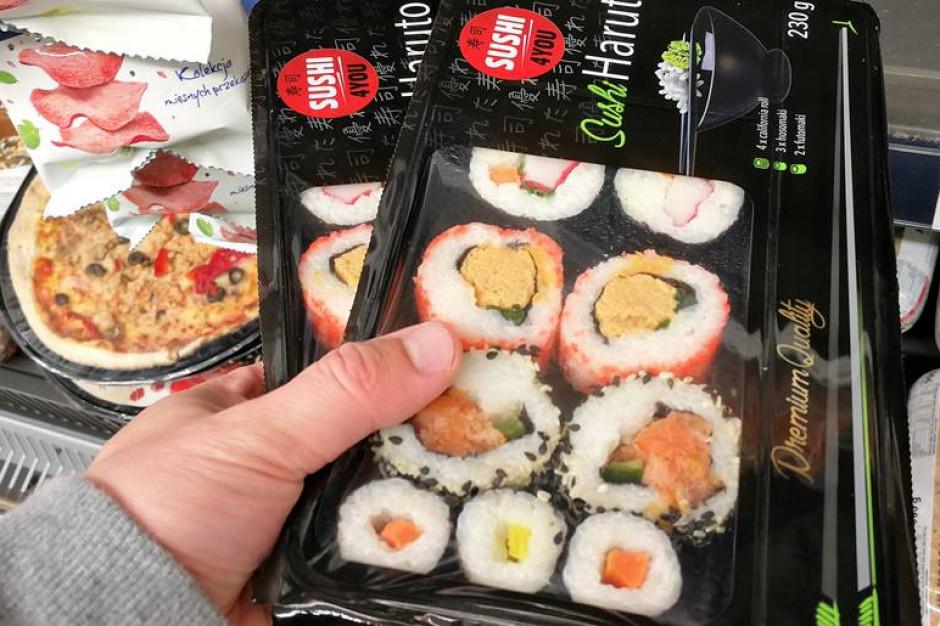 Promocja sushi mocno skoczyła w górę. Polacy mają dość pizzy i pierogów z mikrofalówki