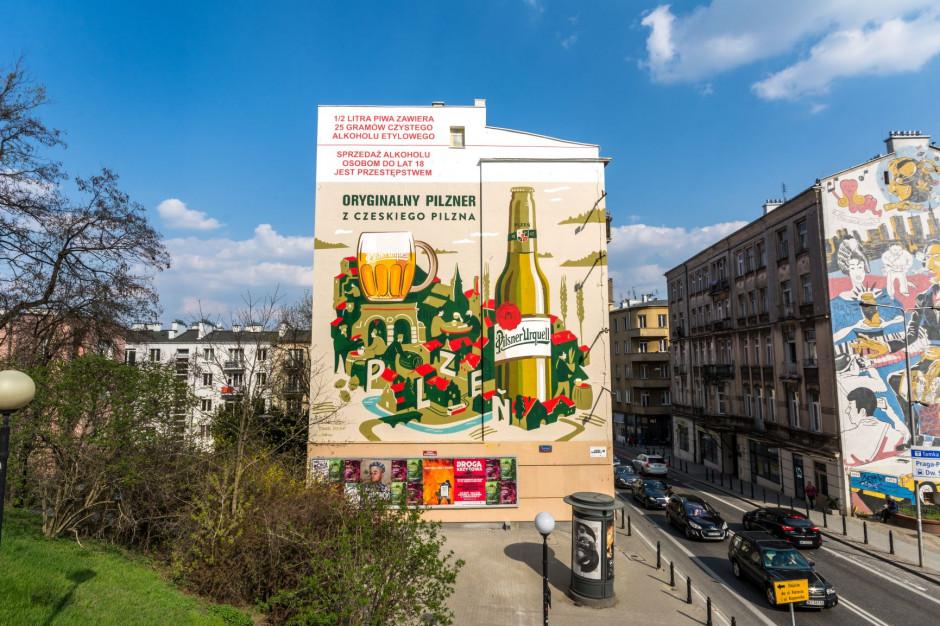 Pilsner z kampanią outdoorową w Warszawie oraz Krakowie