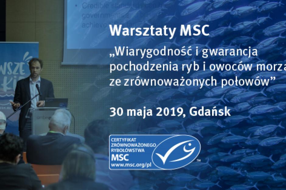 MSC zaprasza na warsztaty na temat aktualizacji StandarduŁańcuchaDostaw