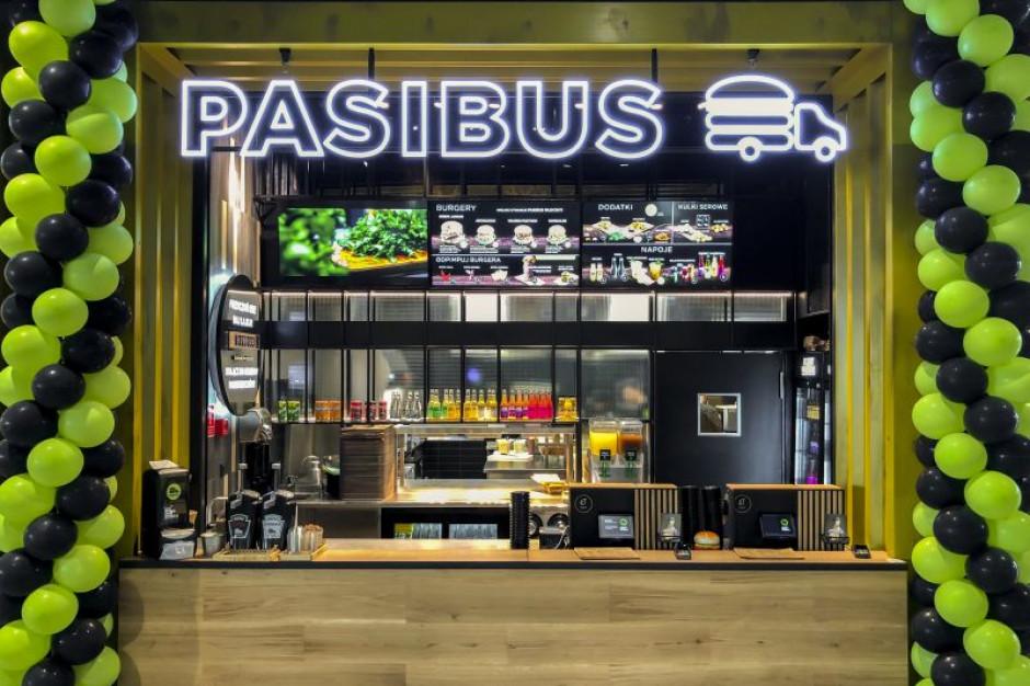 Pasibus serwuje burgery w warszawskiej Galerii Młociny