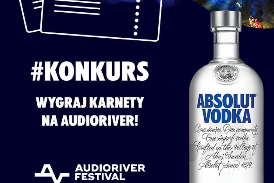 Absolut wystartował z konkursem, w którym do wygrania jest 10 podwójnych zaproszeń na Audioriver