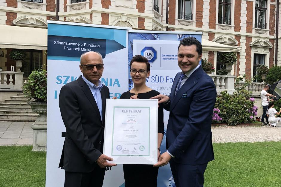 OSM Piątnica uzyskała certyfikat Bez GMO