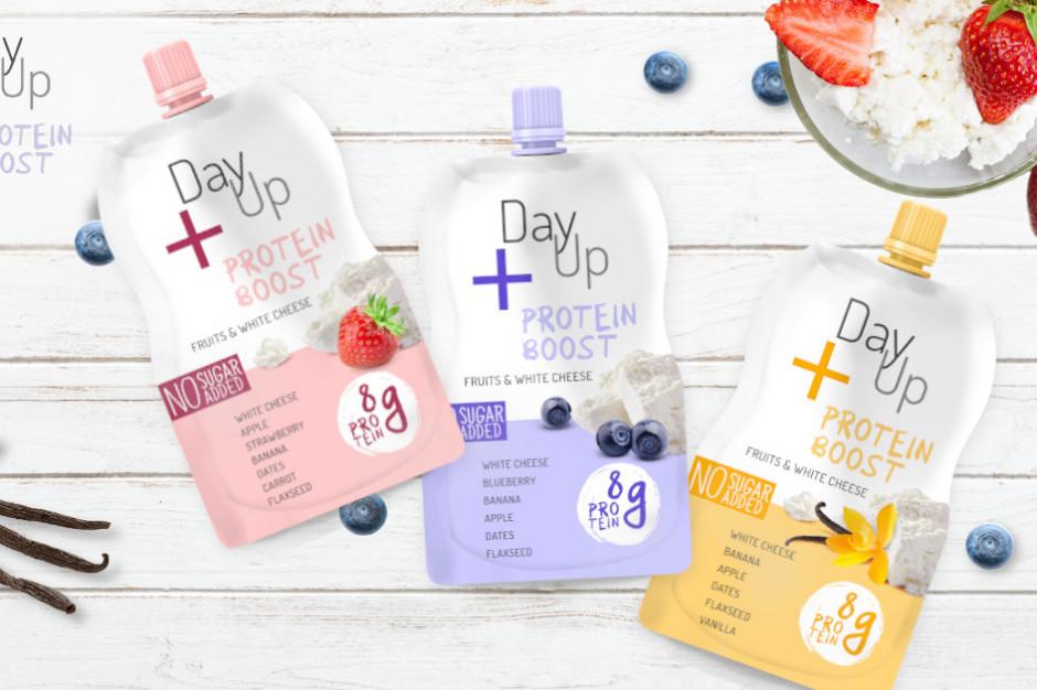 DayUp wchodzi w kategorię serków twarogowych z produktem Protein Boost