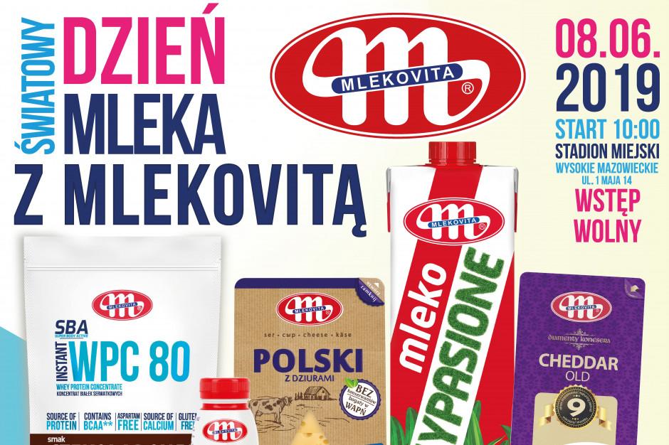 Światowy Dzień Mleka w Polsce z Mlekovitą - 8 czerwca!