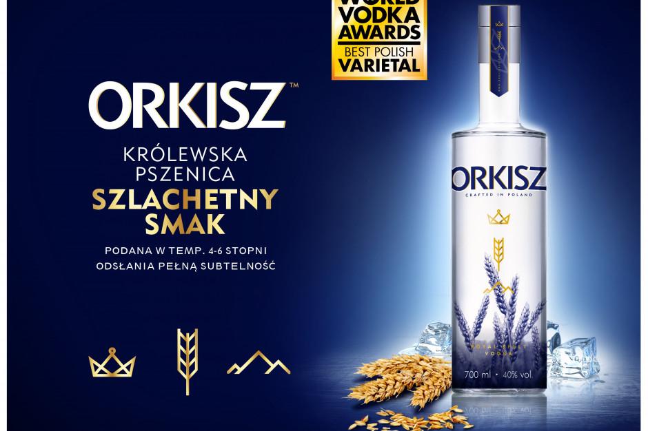 Wódka Orkisz zdobyła nagrodę w międzynarodowym konkursie