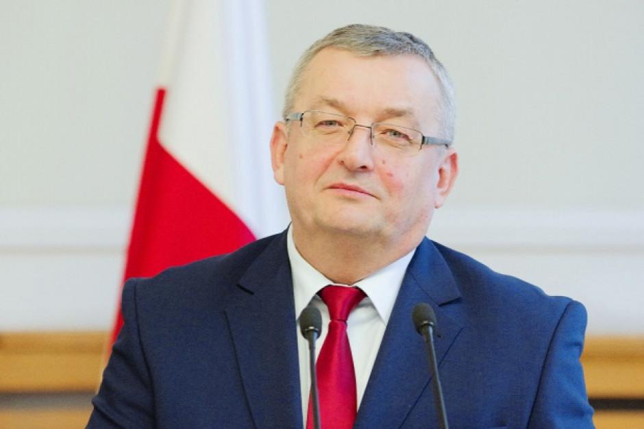 Adamczyk: Polska i inne kraje UE będą chciały zablokować przepisy dot. przewoźników