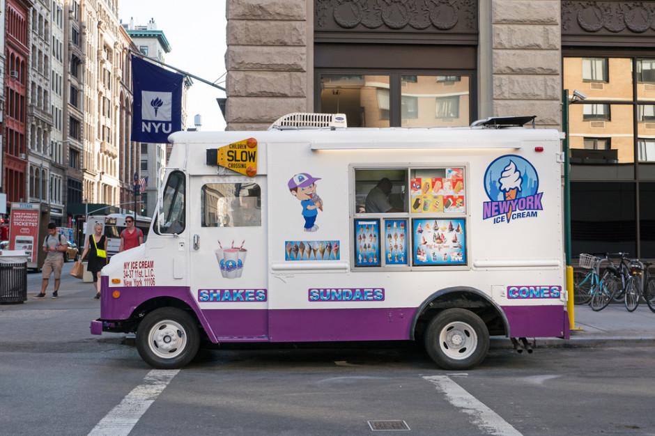 Nowy Jork: Władze zarekwirowały 46 furgonetek z lodami