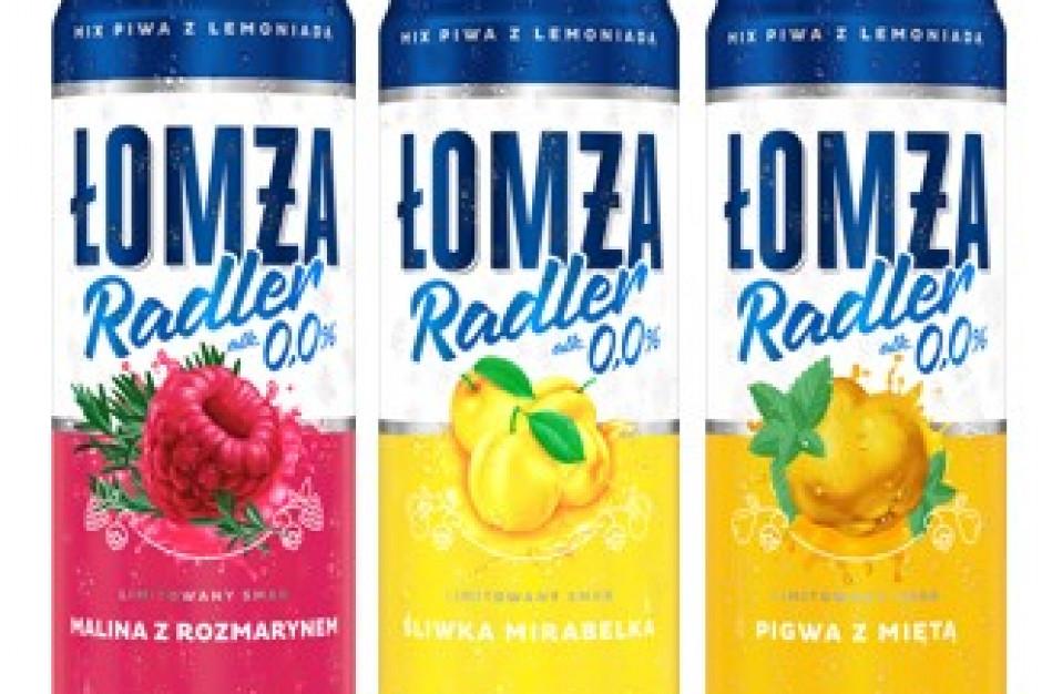 Radler 0,0% polskie smaki - nowość od marki Łomża