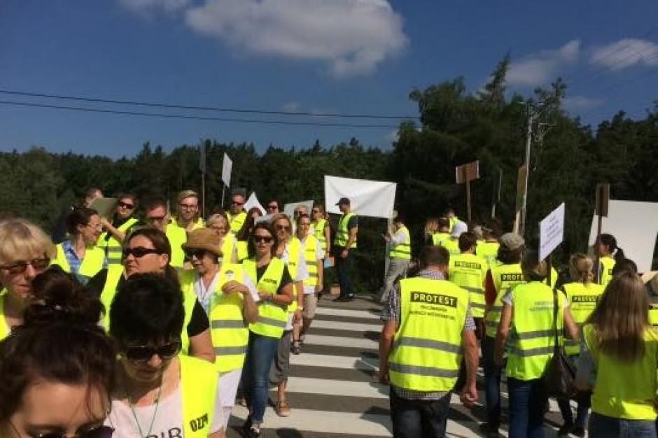 Protest weterynarzy: Ruszyły blokady dróg