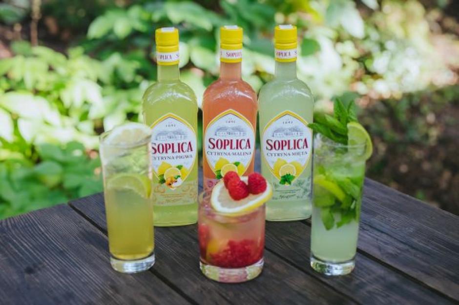 Marka Soplica wprowadza nowe warianty smakowe na lato