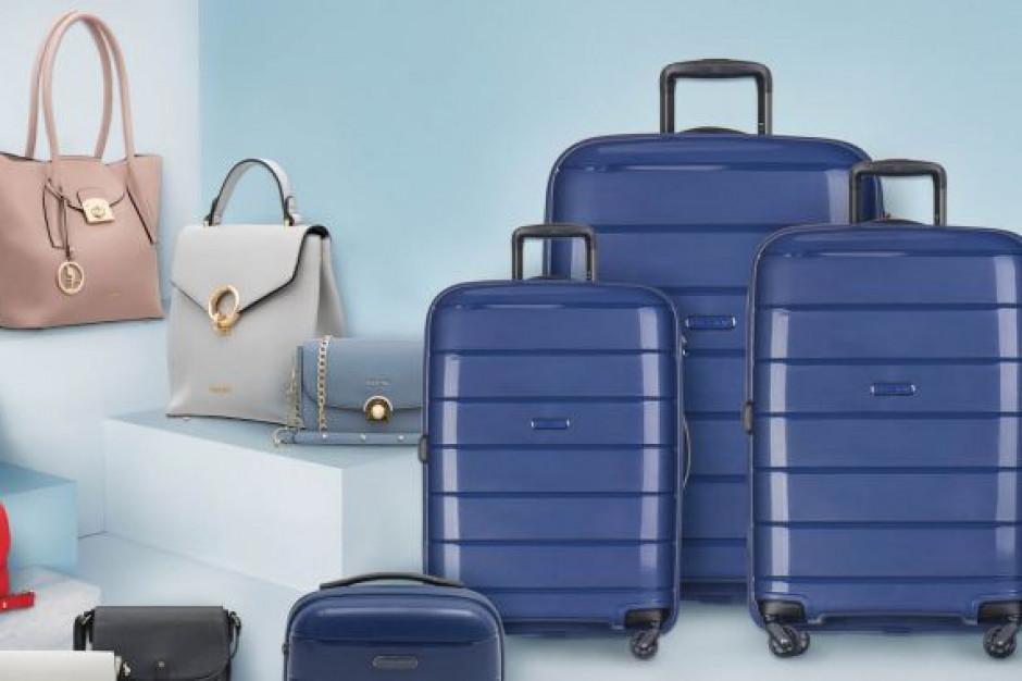 Biedronka z kolekcją walizek i torebek marki Puccini
