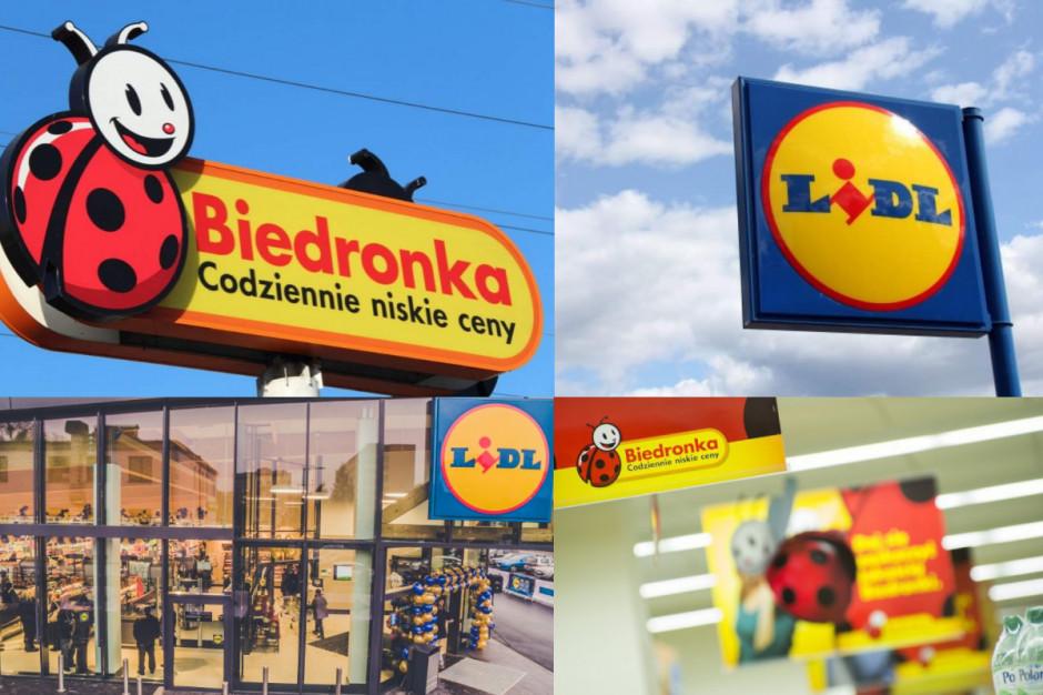 Jak aktywność Lidla i Biedronki przekłada się na ich popularność w internecie?