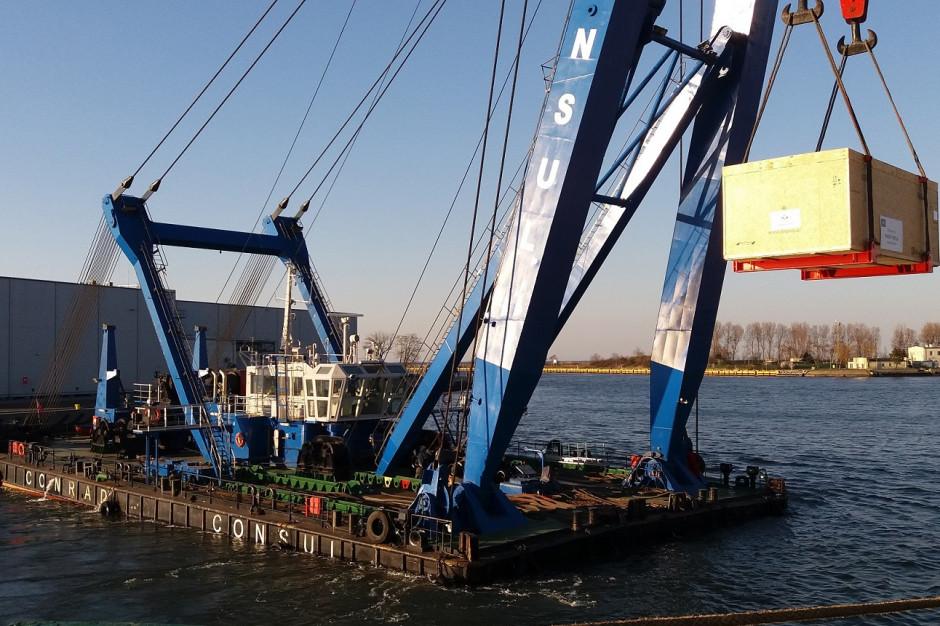 Fracht FWO dostarczył transport o wadze 953 ton
