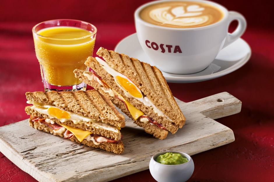 Costa Coffee przygotowała nową ofertę śniadaniową