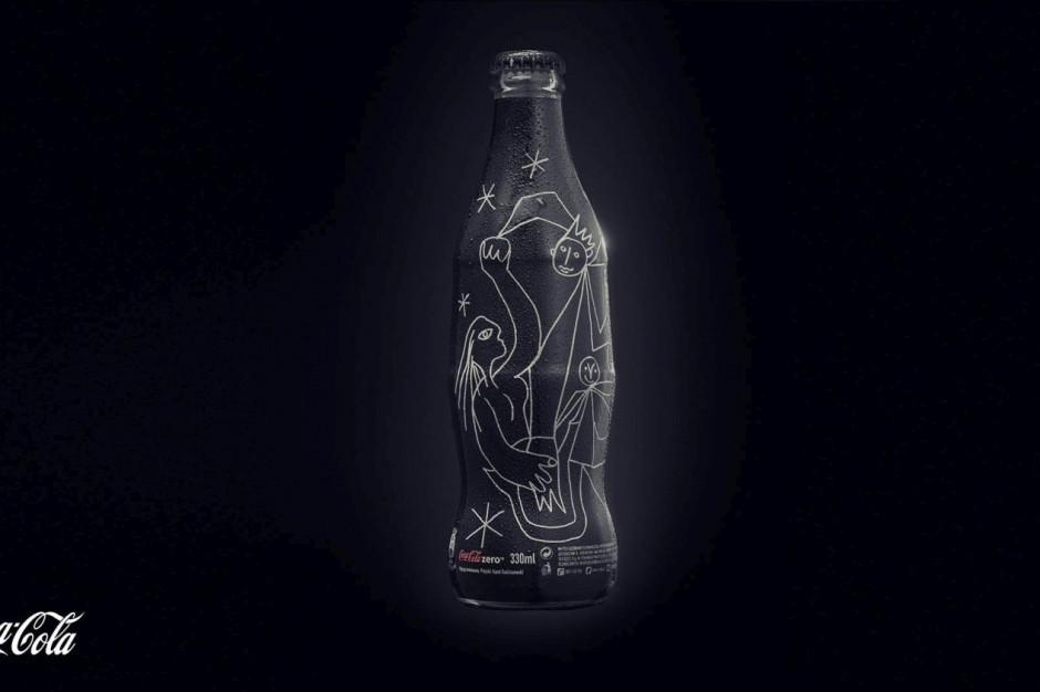 Limitowana edycja butelki Coca-Cola autorstwa Karola Radziszewskiego