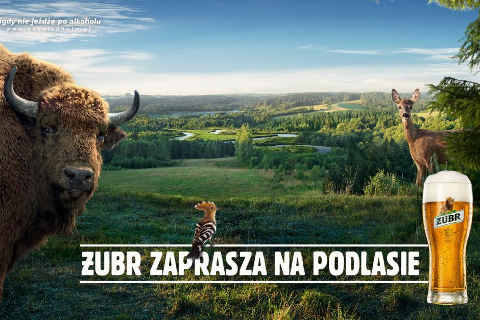 """""""Żubr zaprasza na Podlasie"""" – trwa nowa kampania marki"""