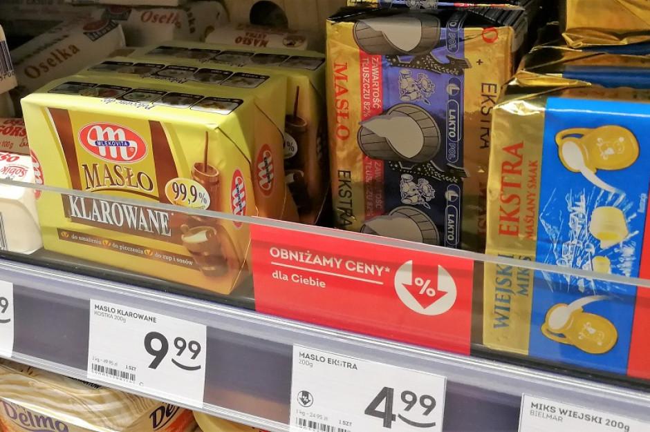 Ceny masła niewiele się różnią od zeszłego roku