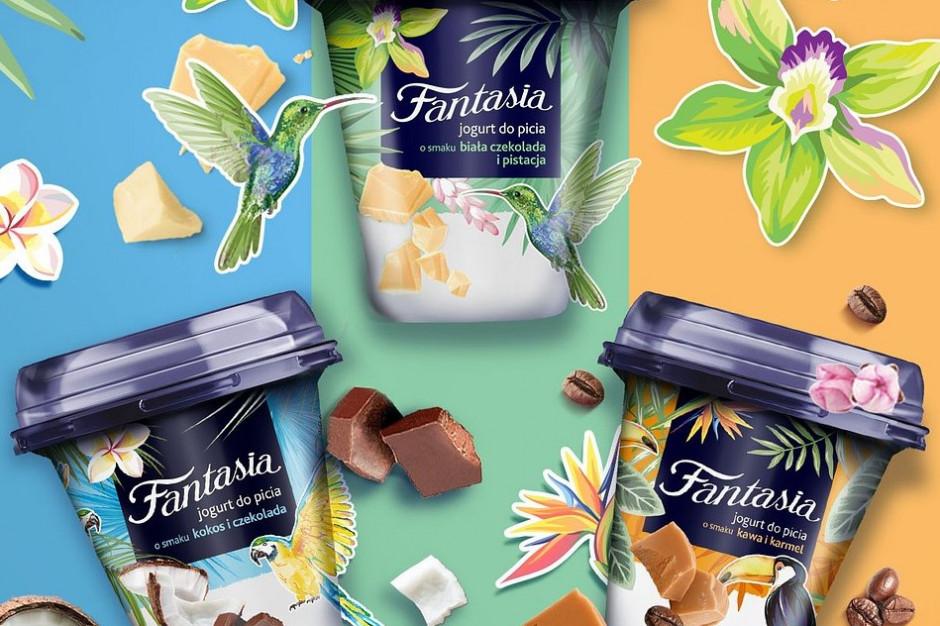 Fantasia rozszerza swoją ofertę o jogurty pitne