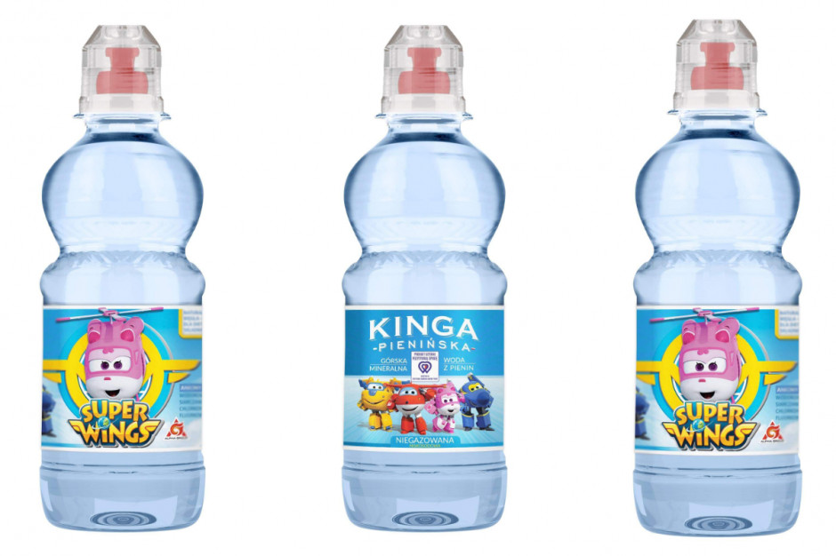 Kinga Pienińska poszerza ofertę o wody dla dzieci