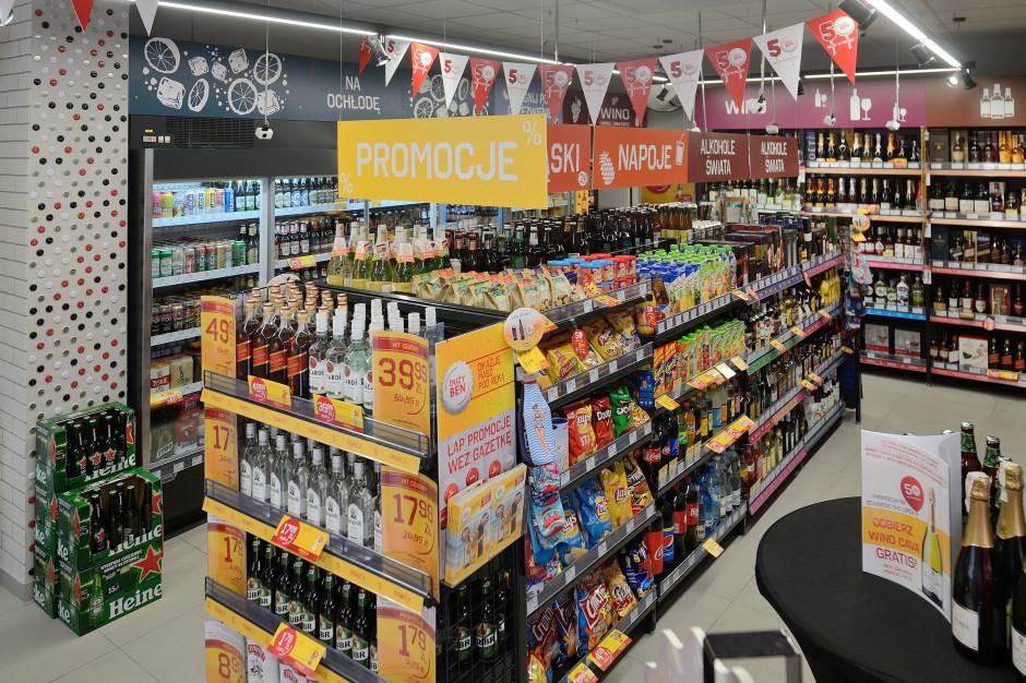 Sieć Duży Ben otworzyła 50 sklep alkoholowy, wchodzi też na Dolny Śląsk