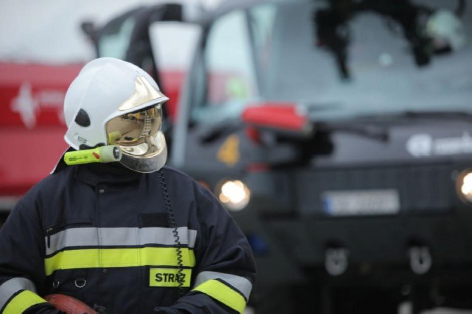 Pożar w opolskich zakładach drobiarskich