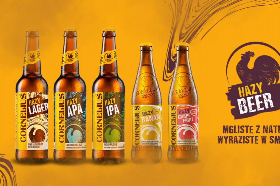 Hazy Beer - piwa Cornelius wracają po rebrandingu