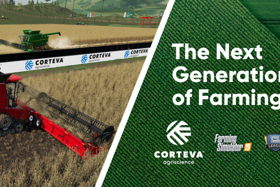 Corteva Agriscience głównym sponsorem Farming Simulator League