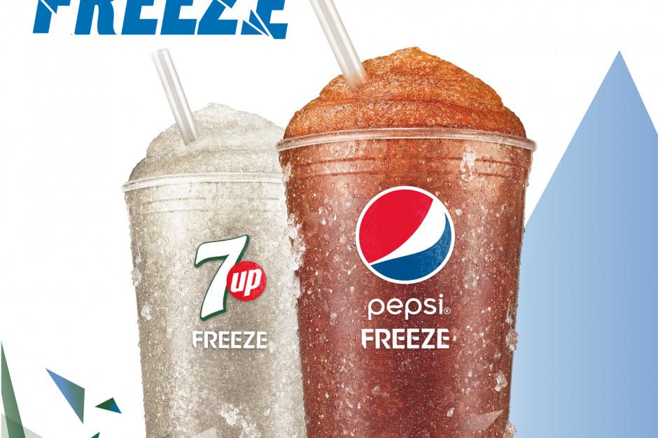 Pepsi Freeze i 7UP Freeze - nowe mrożone napoje gazowane od PepsiCo